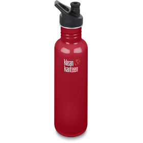 Klean Kanteen Classic Bottle Sport Cap 800ml Mineral Red